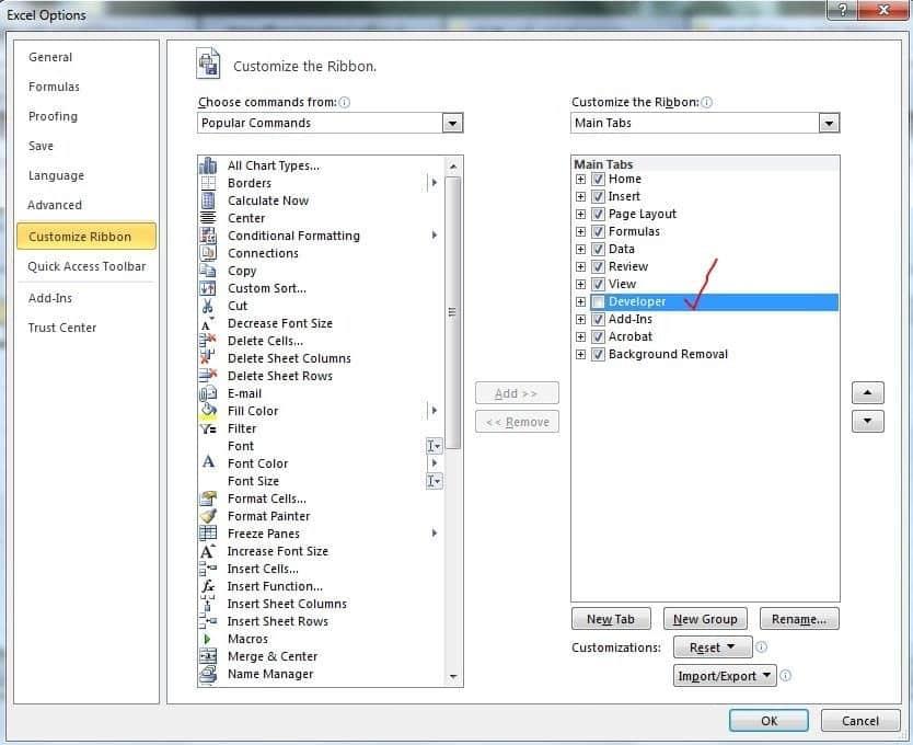 آموزش کامل بارگزاری و نصب تمامی افزونه های (add ins) اکسل