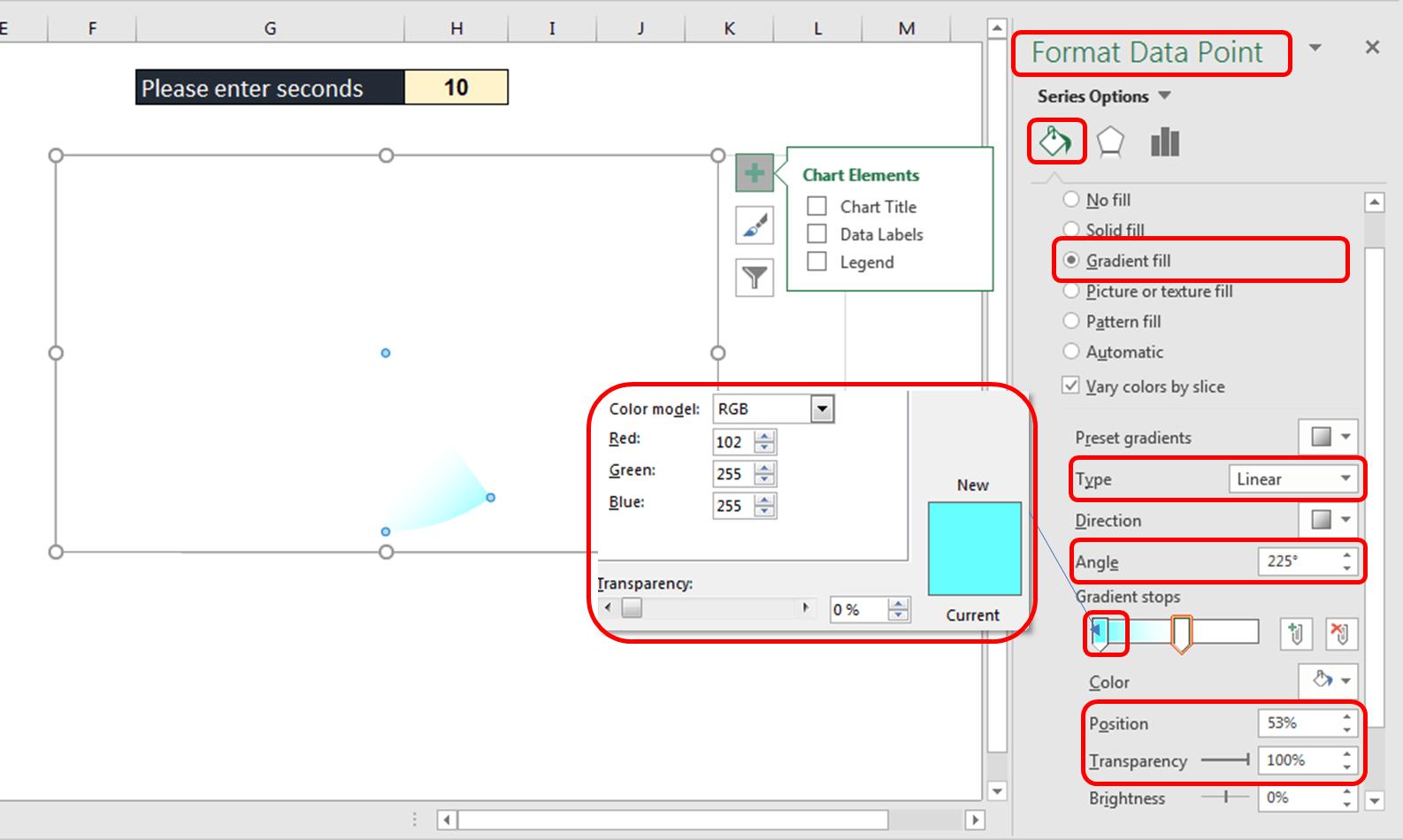 آموزش ایجاد اکسل زمان سنج شمارنده معکوس (تایمر) * ثانیه شمار معکوس 1 ایجاد اکسل زمان سنج شمارنده معکوس